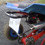 Factory 43 Grab Bar Honda TRX 250R