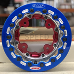 OMF ATV 10 inch Front Highlighted Beadlock Rim