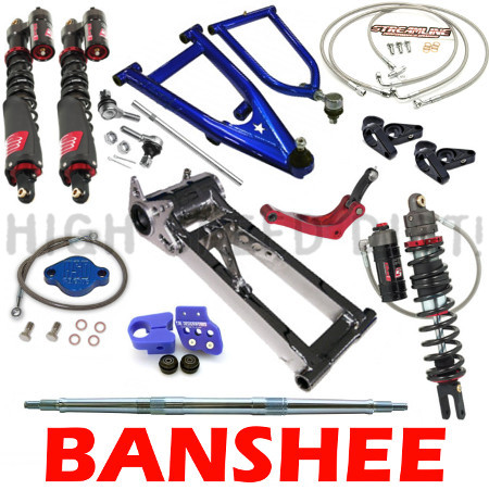 Yamaha Banshee LoneStar Elka Streamline TM Designs Ultimate Package