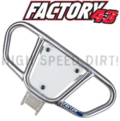 Suzuki LTR450 Factory43 ATV Bumper & numberplate
