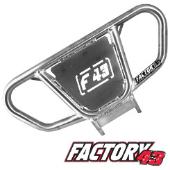 Factory43 ATV Quad Bumper with logo plate