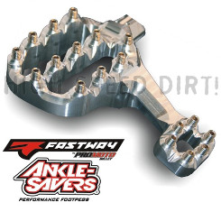 Fastway Billet AIR EXT Foot Pegs & Fit Kit