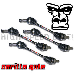Yamaha Grizzly 700 Gorilla (4) Complete ATV Axles