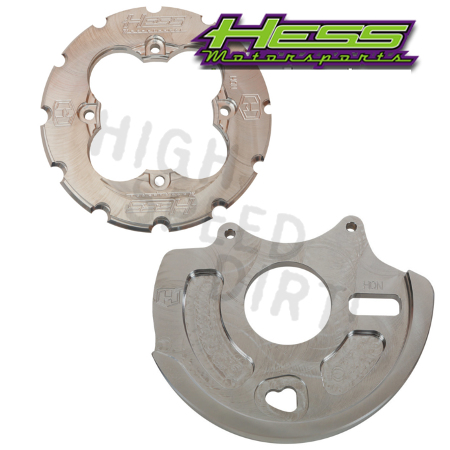 YFZ450 06up Hess Dual Sprocket Gd & Disc Gd
