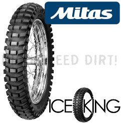 mitas iceking mx ice racing rear tire 110 100x18. Black Bedroom Furniture Sets. Home Design Ideas