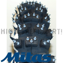 MITAS COMP STUDDED WINTER REAR TIRE 110/90X19