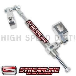 Blaster Streamline 11 Way Rebuildable Steering Stabilizer RED Yamaha Banshee