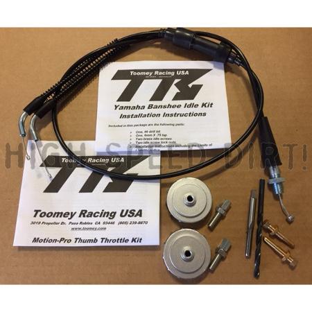 Yamaha Banshee Toomey TORS Removal Thumb on