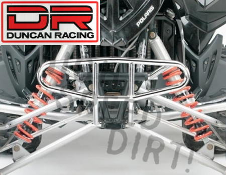 Polaris Outlaw Duncan Racing Chrome Front Bumper