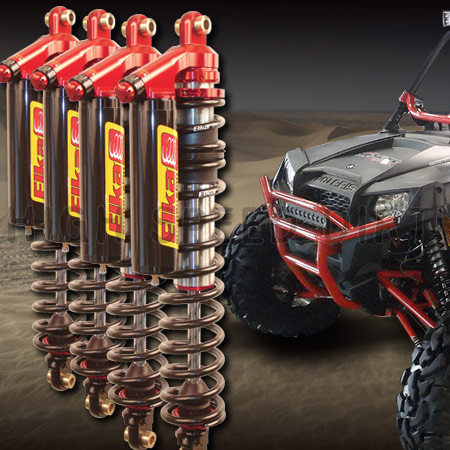 Polaris RZR Elka Legacy UTV Shocks Package