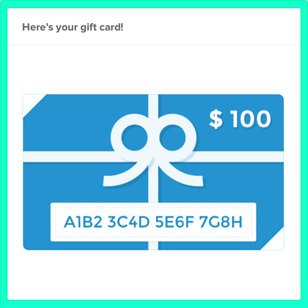 HSD High Speed Dirt Digital Gift Cards