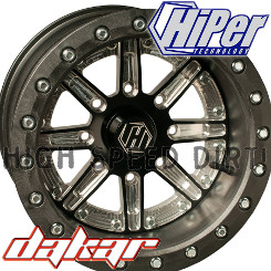 Hiper Sidewinder 14-inch Side-by-Side wheel SBL