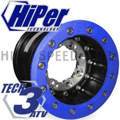 Hiper Tech 3 Aluminum Center 9x8 inch rear SBL rim