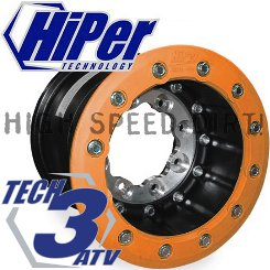 Hiper Tech-3 Aluminum Center 10x9 3+6 rear SBL rim