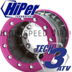 Hiper Racing Wheels Tech3 8x8 3+5 rear DBL rim