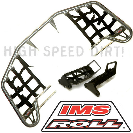 IMS ROLL NERF BARS + FOOT PEGS