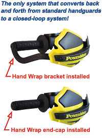 Handguards shown with or without Handwraps