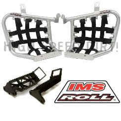 Honda TRX450R 06up IMS ROLL PEGS + HEEL GDS PK
