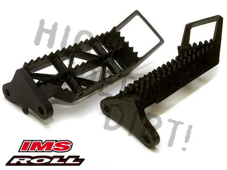 Honda 450R 2006up IMS-ROLL Pro Series Foot Pegs