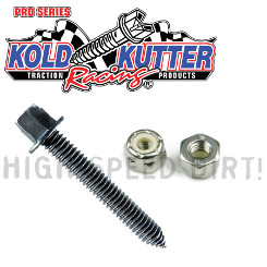Kold Kutter Canadian #12-24 Ice Screws w/ Nuts