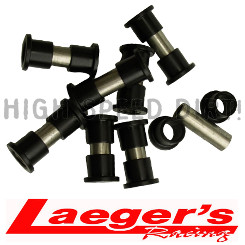Laeger's Racing (16) Bushings & (8) Sleeves Kit