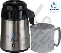 MegaHome Essential Oil Distiller SS Black Plastic