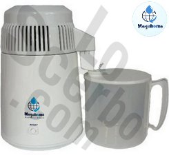 MegaHome Water Distiller White Plastic