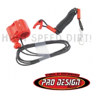 Pro Design Tether Kill Switch Red