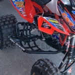 450R NERF BAR+FOOT PEGS+HEEL GUARD