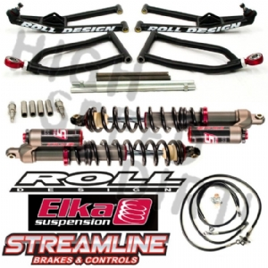 YFZ450R ROLL A-Arms Elka Stage 5 Package