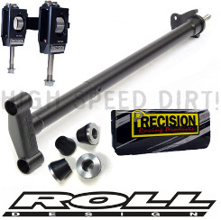Honda TRX450R Roll Stem Precision Shock & Vibe kit