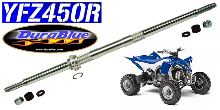 YFZ450 Eliminator Axle Durablue Yamaha 20-1172sp