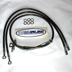 Streamline Z400+2 Front Brake Line Smoke CLEARANCE