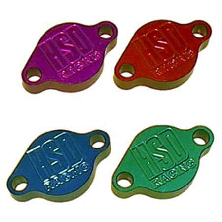 HSD Parking Brake Block Off Plate - Anodized
