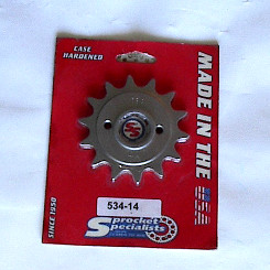 Sprocket Specialists 534-14 Honda 250R 14T front