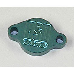 HSD Parking Brake Block Off Plate - Teal CLEARANCE
