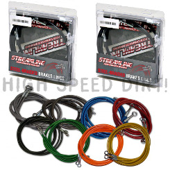 Multifit Streamline ATV front & rear brake lines