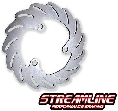 Honda TRX250R Streamline Braking Rear Rotor