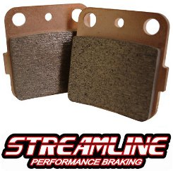 Streamline Xtreme Duty ATV Quad Rear Brake Pads
