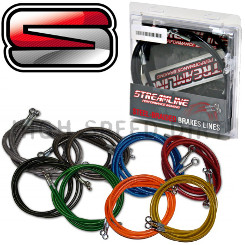 CanAm DS450 Streamline Front Brake Line Kit