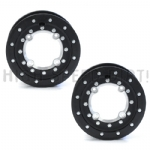 Hiper Tech-3 Alum-Carbon 10x5 front pair ATV rim
