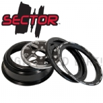 DWT Sector 14x7 4B+3N 14mm Beadlock Rims
