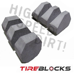 29x9-14 Tire Blocks Pair Run Flat Foam Inserts