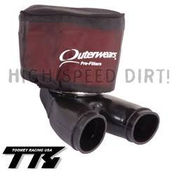 YFZ350 Toomey 2 into 1 Intake kit w Outerwear