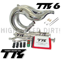 Banshee YFZ350 Toomey Pipes Kit Chrome