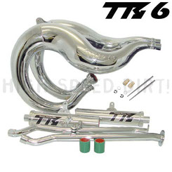 Banshee Toomey Chrome Set Pipes & Jets