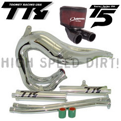 Toomey T5K2C Chrome Kit Banshee Pipes & 2:1 HFFS