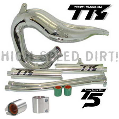 Banshee Toomey T5 Set Pipes & Clamps
