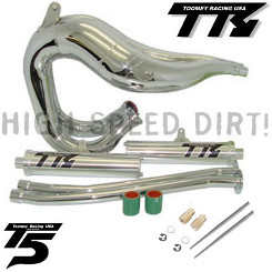 Toomey T5SCJ Chrome Set Banshee Pipes Jets
