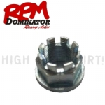 RPM AXLE M20 X 1.5 CASTLE NUT MULTIFIT
